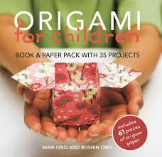 origami for children book u0026 paper pack with 35 projects mari ono