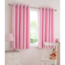 Girls Bedroom Window Treatments Little Bedroom With Pink Curtains Decorating With Kids