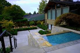modern house landscape design ideas seasons of home landscaping
