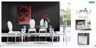 Modern White Dining Room Themed Modern Designer Dining White Contemporary Dining Room Sets