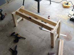 awesome farmhouse table and bench youtube rustic plans maxresde