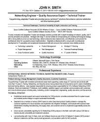 Sample Resume In Doc Format 10 Network Engineer Resume Templates