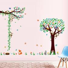 discount tree vine wall decor stickers 2017 tree vine wall decor