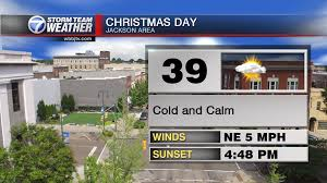 forecast rain on christmas eve sunny for christmas will be looking like a cold christmas wbbj tv