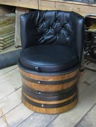 Whiskey Barrel Chairs Some Whiskey Barrel Chairs To Go Around That Spool Table Camp