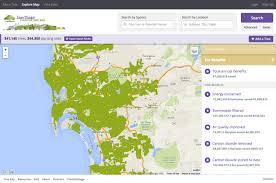 Map San Diego San Diego Tree Map U2013 Urban Ecos