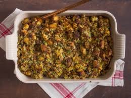 veggie stuffing thanksgiving cornbread dressing with sausage and sage recipe serious eats