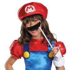 super mario bros mario skirt costume girls buycostumes
