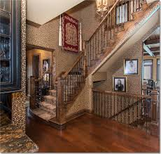 animal print carpet for stairs staircase traditional with neutrtal