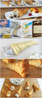 crescent roll cornucopia recipe thanksgiving turkey crescent