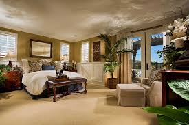 Luxury Master Bedroom Suite Designs Modern Master Bedroom Grey Wall White Bedding Bed Glass Walls