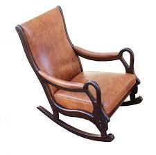 Design Rocking Chair Leather Rocking Chair Modern Chairs Design