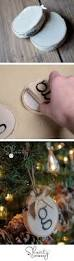 Homemade Christmas Decoration Ideas by 30 Diy Christmas Ornament Ideas U0026 Tutorials Hative