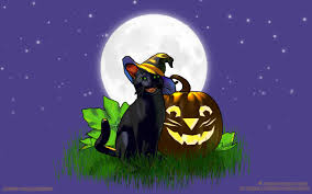 black cat halloween background jack cat halloween wallpaper copyright robin wood 2006
