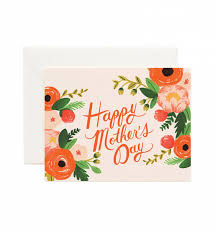 happy mother u0027s day greeting card by rifle paper co made in usa