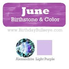 The Month Of June Flower - june birthstone color light purple coordinating with it u0027s