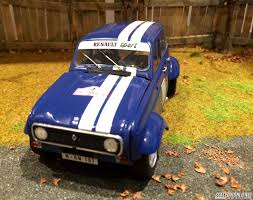 renault rally 2016 renault 4 rally scaledworld