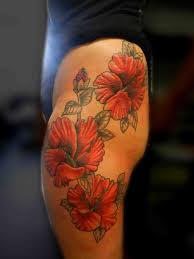tattoo truro hibiscus tattoo tattoo flower side girly pretty 001
