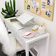 kate spade new york inspired office decor ideas brit co