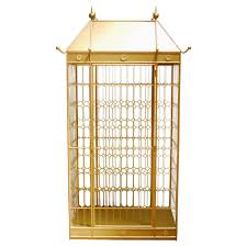 monumental hollywood regency gilded bird cage at 1stdibs