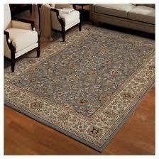 queen elizabeth gray area rug orian target