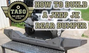 homemade jeep bumper jeep jk rear bumper diy kit taso bmp jk 900 u youtube