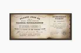 vintage bridal shower read more vintage bridal shower admission ticket invitation