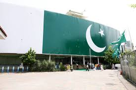 Flag Of Pakistan Pic Telenor Pakistan Has Decorated Its Entire Headquarter With Mammoth