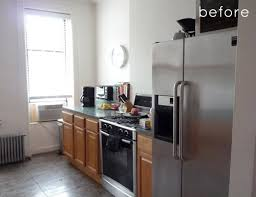 Simple Kitchen Makeovers - clean and airy kitchen makeover