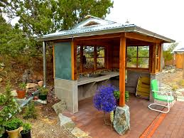 outdoor kitchen roof ideas alt build building an outdoor kitchen 2 framing the walls