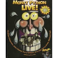 monty python live books