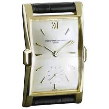vacheron and constantin yellow gold manual wristwatch 1953 for