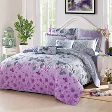 Purple And Gray Comforter Dreamy Gray And Purple Natural Cotton Fabric Of Teen Bedding Sets Ogtbd15052811174375 1 Jpg