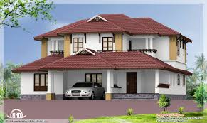 sloping roof house kerala home design architecture plans home