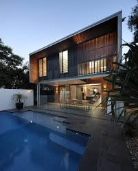 compact and modern house architecture designer interior design mid