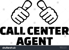 Home Design Center Telemarketing by Call Center Agent Thumbs Tshirt Design Stock Vector 538629568