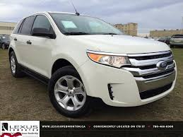 pre owned white 2012 ford edge se fwd review athabasca alberta