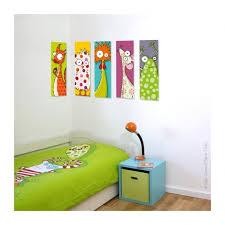 tableaux chambre bébé tableau tête d écureuil déco chambre bébé enfant série golo