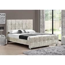 Velvet Bed Frame Sansa Velvet Bed Frame Next Day Delivery Sansa Velvet Bed Frame
