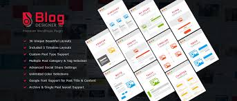 Home Designer Pro Layout Blog Designer Pro Best Responsive Wordpress Plugin
