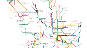 detailed map of new york a manhattan subway map based on judgmental generalizations about