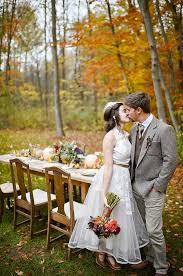 outdoor fall wedding ideas michigan fall favorites wedding inspiration