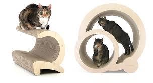 Modern Design Cat Furniture by Stunning Modern Cat Scratchers Lounges U0026 Hideaways From Miglio