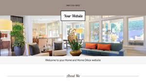 Home Decorating Website