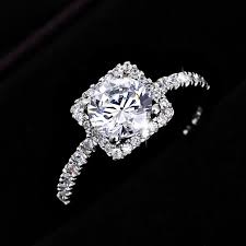 cubic zirconia white gold engagement rings cubic zirconia engagement rings white gold 2017 wedding ideas