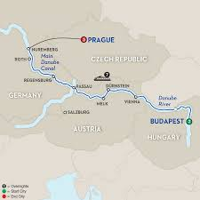 World Map Hungary by Hungary River Cruises Avalon Waterways