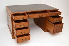 Schreibtisch Walnuss Georgianischer Walnuss Schreibtisch Antik