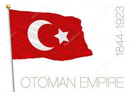 Flag Ottoman Ottoman Empire Historical Flag Stock Vector Frizio 93677562