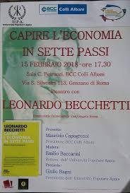 libreria colli albani castelli notizie genzano capire l economia in sette passi l