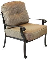 Deep Seating Wicker Patio Furniture - amia 5 piece luxury cast aluminum patio furniture deep hanover
